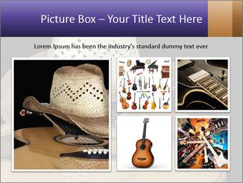 Acoustic guitar PowerPoint Template - Slide 19