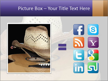 Acoustic guitar PowerPoint Template - Slide 21