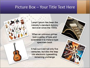 Acoustic guitar PowerPoint Template - Slide 24