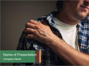 Shoulder pain PowerPoint Templates