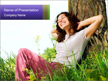 Nature PowerPoint Template - Slide 1