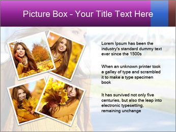 Young brunette PowerPoint Template - Slide 23