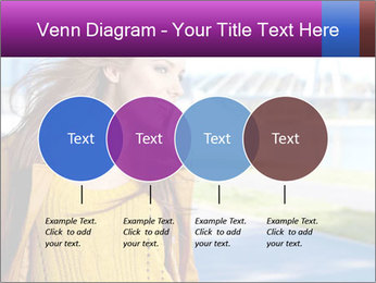 Young brunette PowerPoint Template - Slide 32