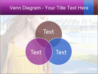 Young brunette PowerPoint Template - Slide 33