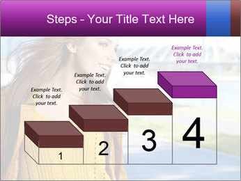 Young brunette PowerPoint Template - Slide 64