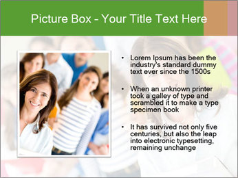Female teacher PowerPoint Template - Slide 13
