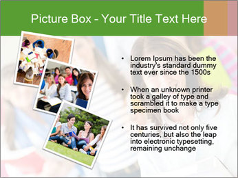 Female teacher PowerPoint Template - Slide 17