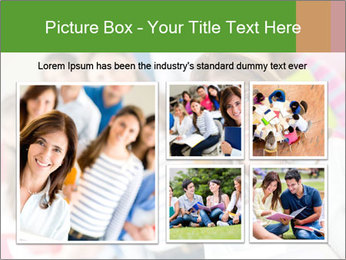 Female teacher PowerPoint Template - Slide 19