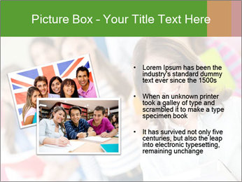 Female teacher PowerPoint Template - Slide 20
