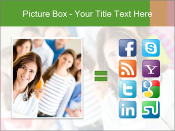 Female teacher PowerPoint Template - Slide 21