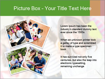 Female teacher PowerPoint Template - Slide 23