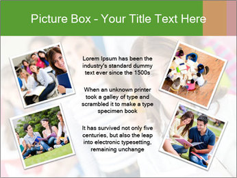 Female teacher PowerPoint Template - Slide 24