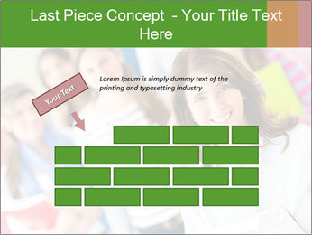Female teacher PowerPoint Template - Slide 46