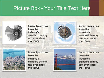 View from Alcatraz PowerPoint Template - Slide 14