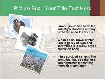 View from Alcatraz PowerPoint Template - Slide 17