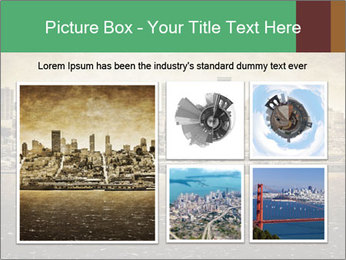 View from Alcatraz PowerPoint Template - Slide 19