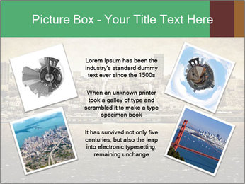 View from Alcatraz PowerPoint Template - Slide 24