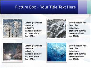 Fresh snow PowerPoint Template - Slide 14