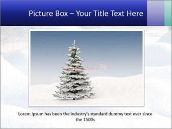 Fresh snow PowerPoint Template - Slide 16