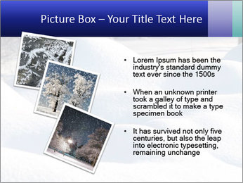 Fresh snow PowerPoint Template - Slide 17