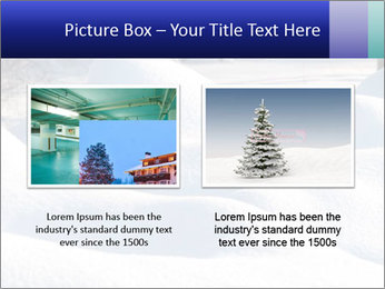 Fresh snow PowerPoint Template - Slide 18