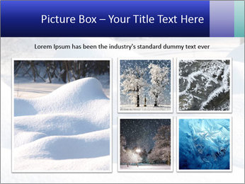 Fresh snow PowerPoint Template - Slide 19