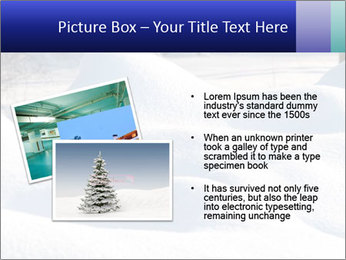 Fresh snow PowerPoint Template - Slide 20