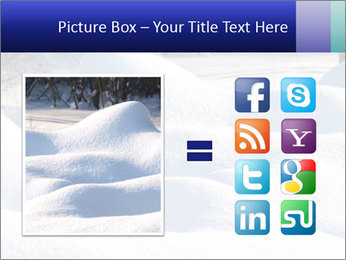 Fresh snow PowerPoint Template - Slide 21