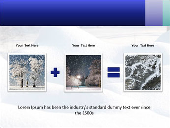 Fresh snow PowerPoint Template - Slide 22