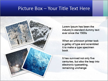 Fresh snow PowerPoint Template - Slide 23