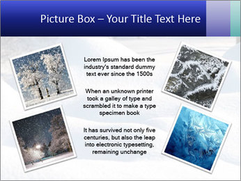 Fresh snow PowerPoint Template - Slide 24