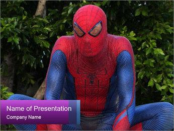 Spider-Man PowerPoint Template - Slide 1