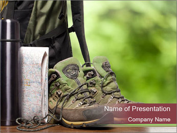 Shoes PowerPoint Template - Slide 1