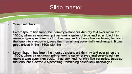Shoes PowerPoint Template - Slide 2