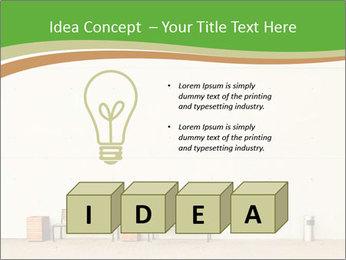 Street wall PowerPoint Template - Slide 80