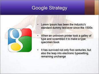 Happy woman PowerPoint Template - Slide 10