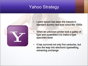 Happy woman PowerPoint Template - Slide 11