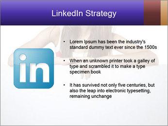 Happy woman PowerPoint Template - Slide 12