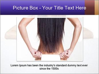 Happy woman PowerPoint Template - Slide 16
