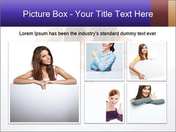 Happy woman PowerPoint Template - Slide 19