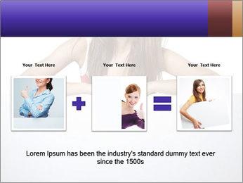 Happy woman PowerPoint Template - Slide 22