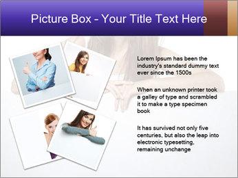 Happy woman PowerPoint Template - Slide 23