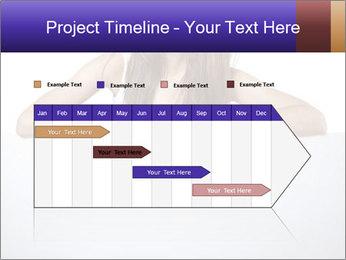 Happy woman PowerPoint Template - Slide 25