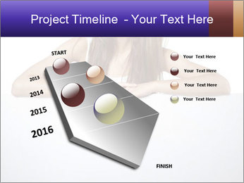 Happy woman PowerPoint Template - Slide 26