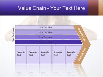 Happy woman PowerPoint Template - Slide 27