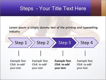 Happy woman PowerPoint Template - Slide 4