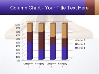 Happy woman PowerPoint Template - Slide 50