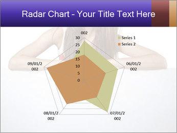 Happy woman PowerPoint Template - Slide 51