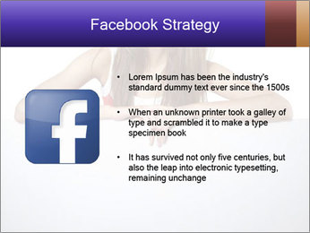 Happy woman PowerPoint Template - Slide 6