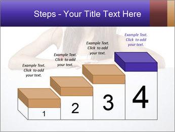 Happy woman PowerPoint Template - Slide 64